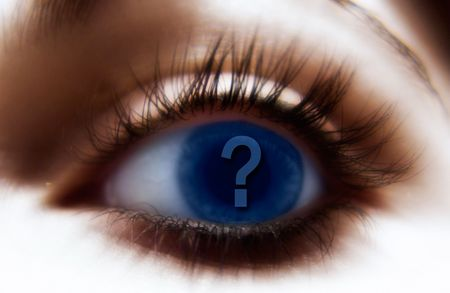 Questioning Eye Stock Photo - 215968
