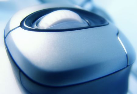 Blue Optical Mouse