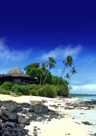 Tropical Resort on Aitutaki photo
