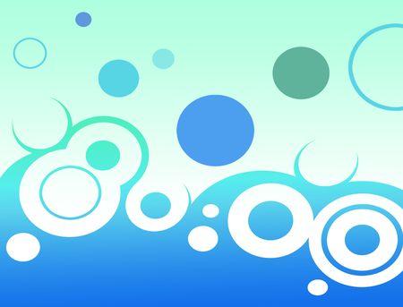 Aqua Marine Abstract