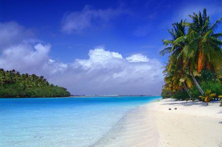 The lagoon meets the sea photo
