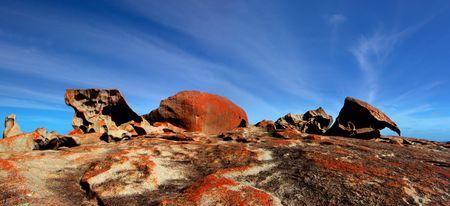 remarkable: Remarkable Rocks - Kangaroo Island Stock Photo