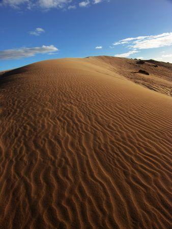 Australian Sand Dune Stock Photo
