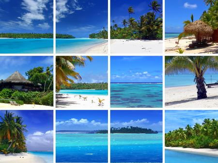 Tropical Scenes Stock Photo