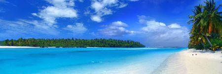 blue lagoon: Panorama Tropicale