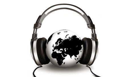 The World is Listening Stock Photo - 795298