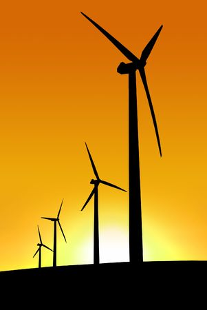 Wind Farm at Cape Jervis, South Australia