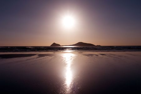 Beautiful Sunset at a beach on Wilsons Prom Stock Photo - 2677020