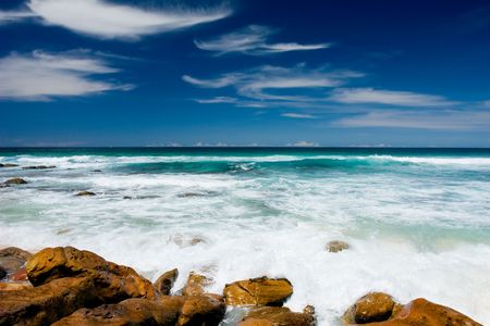 unspoilt: Gorgeous Unspoilt Beach on the NSW South Coast