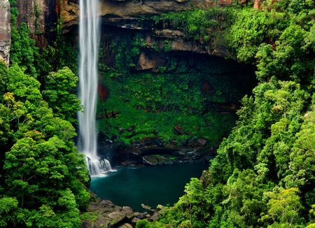 nsw: Gorgeous Waterfall in NSW