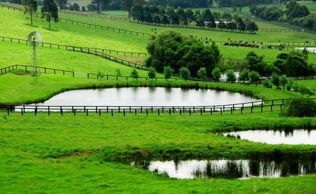 Beautiful Farmland in rural NSW photo