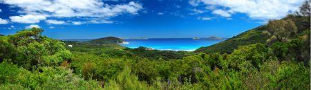 wilsons promontory: Panoramic Photo of Australian Coastline