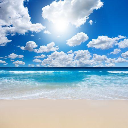 strand australie: Zomer op het strand Stockfoto