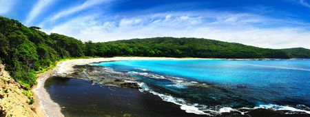 Gorgeous Panoramic from the South Coast of NSW Stock Photo - 2840209