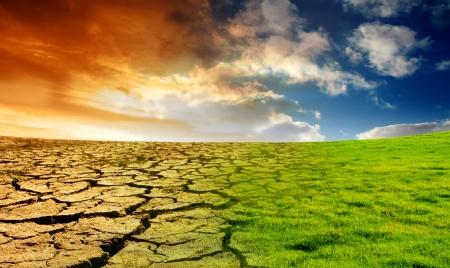 地球温暖化の効果 写真素材 - 4023720