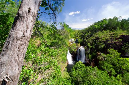 darwin: Scenic waterfalls in Northern Australia