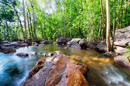 A natural spring in Northern Australia Stock Photo