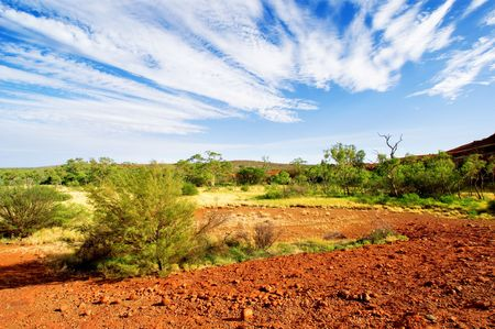 nature sauvage: Australian Outback Paysage