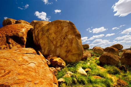 Devils Marbles in Northern Territory Stock Photo - 4888804