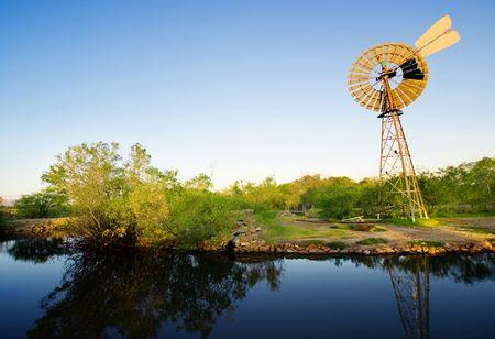 Windmill in Northern Territory, Australia