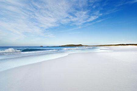 falkland: Surf Bay in the Falkland Islands