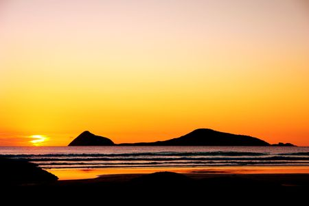 wilsons promontory: Gorgeous Sunset at Wilsons Promontory in Victoria, Australia