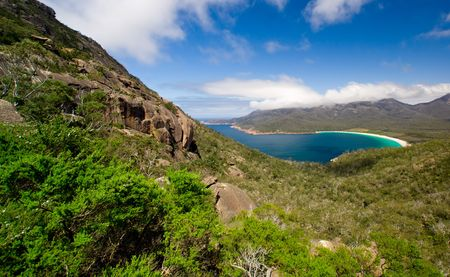 tasmania: Wineglass Bay in Tasmania