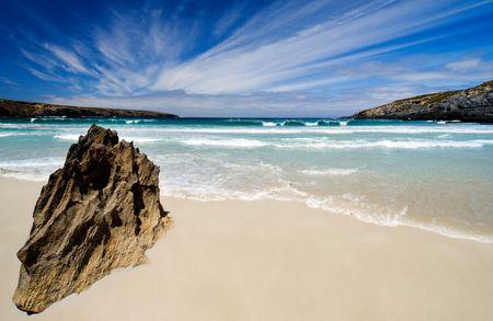 Beautiful Australian Beach in summer photo