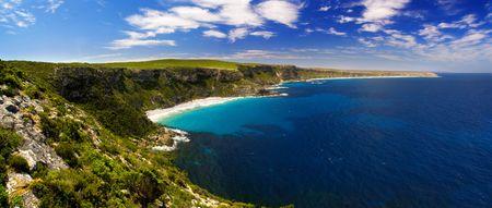 Coastal landscape on Kangaroo Island photo