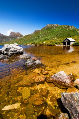 tasmania: Beautiful Lake in Tasmania