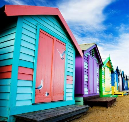 Brighton - Melbourne, Australia의 해변가