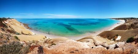 Beautiful panorama of Port Willunga in Adelaide, SA Stock Photo - 9545044