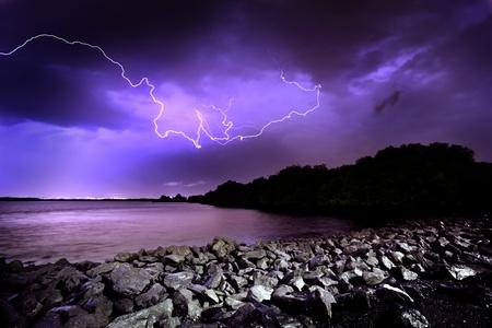 Lightning Storm in Adelaide, South Australia