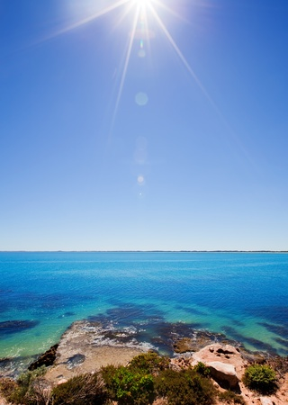 Hot summer day on the coast Stock Photo - 9545005