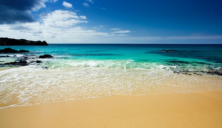 Gorgeous beach on isolated island in the Atlantic Stock Photo - 11313201