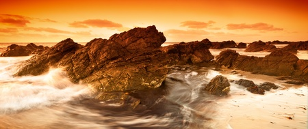 South Australian Beach Sunset Stock Photo - 12986411