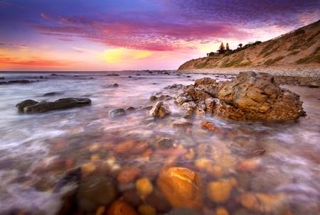 Beautiful Australian Sunset Stock Photo - 12986418