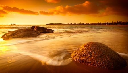 Gorgeous Sunrise on a South Australian Beach photo