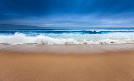A beautiful surreal ocean scene