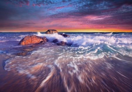 yorke: Beautiful South Australian Sunset - Yorke Peninsula Stock Photo