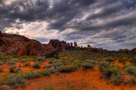Devils Gardem - Arches National Park Moab Utah photo