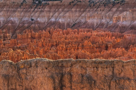 pine creek: Hoodoos at Sunset - viewed from Amphitheater Point in Bryce Canyon