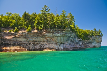 lake shore: Pictured Rock National Lake Shore Michigan State