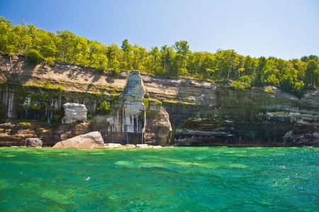 pictured: Pictured Rock National Lake Shore Michigan State