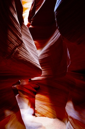 Famous Antelope Canyon in Page City Arizona photo