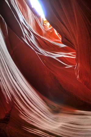HDR image of Antelope Canyon in Page Arizona