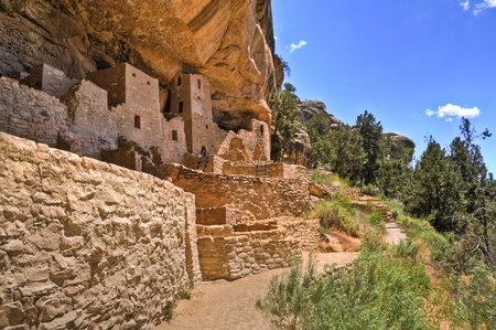 adobe pueblo: Mesa Verde National Park (Aramark) Tour