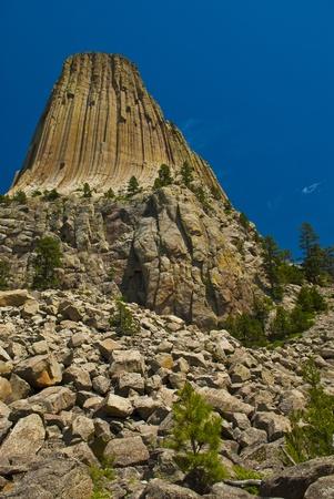monolith: Iigneous intrusion or laccolith located in the Black Hills near Hulett