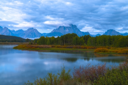 Amazing Sunrise in Grand Teton National Park photo