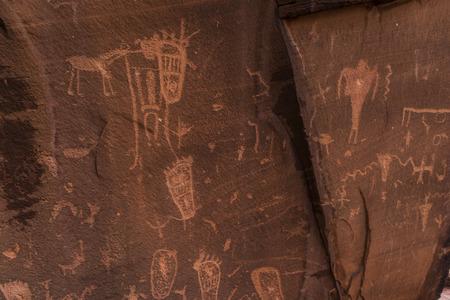 birthing: Indian Petroglyphs on Birthing Rock - Hurrah Pass Utah